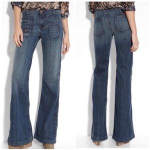 7 for all mankind Georgia flare jeans 28 GUC